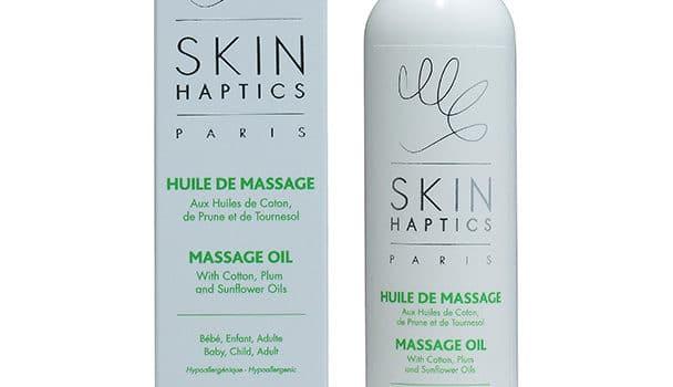 L'huile de massage Skin Haptics